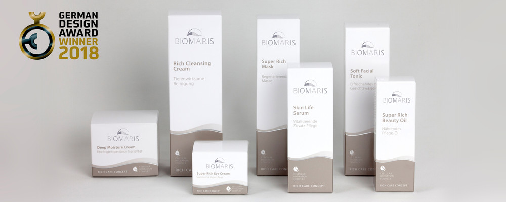 Biomaris Packaging German Design Award Winner